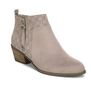 NEW Dr Scholls Brianna Taupe Gray Ankle Boots 8.5